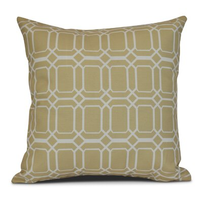 Golden Gate Coastal Outdoor Throw Pillow Size: 18 H x 18 W x 3 D, Color: Taupe