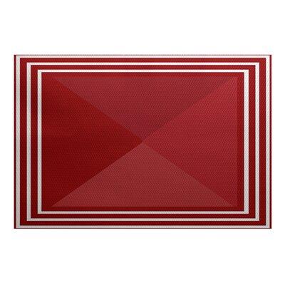 Bartow Red Indoor/Outdoor Area Rug
