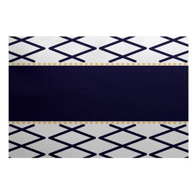 Bartow Purple/Gray Indoor/Outdoor Area Rug Rug Size: 2' x 3'
