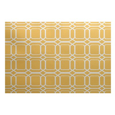 Bartow Yellow Indoor/Outdoor Area Rug