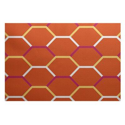Bartow Orange Indoor/Outdoor Area Rug