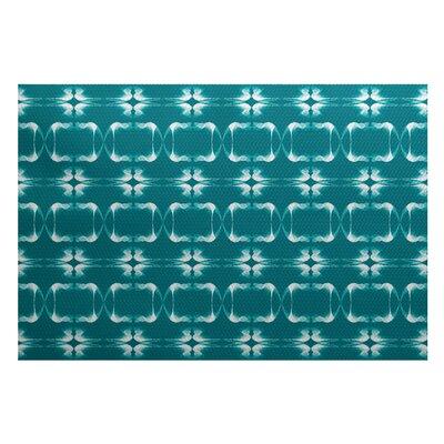 Bartow Green Indoor/Outdoor Area Rug Rug Size: 5 x 7
