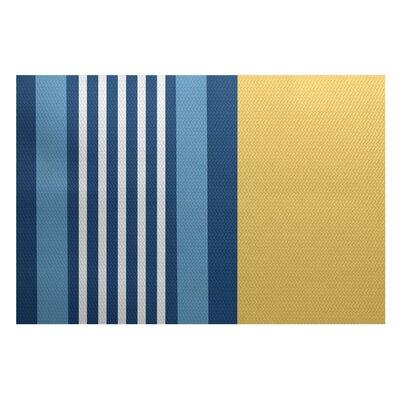 Bartow Yellow/Blue Indoor/Outdoor Area Rug