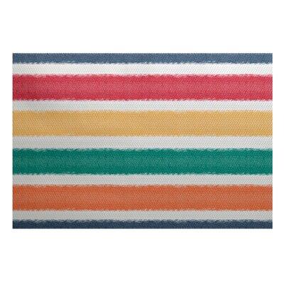 Bartow Red/Green/Yellow Indoor/Outdoor Area Rug