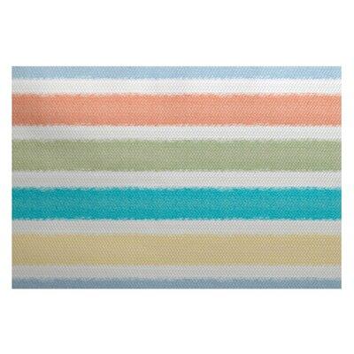 Bartow Orange/Blue/Green Indoor/Outdoor Area Rug