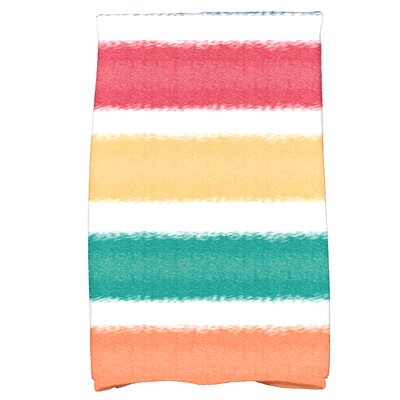 Bartow in the Sun Bath Towel Color: Blue
