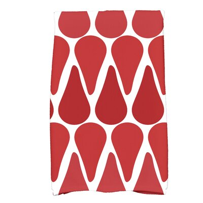 Golden Gate Bath Towel Color: Red