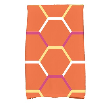 Bartow Cool Shades Bath Towel Color: Orange