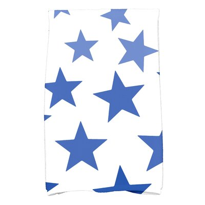 Petersfield Just Stars Bath Towel Color: Blue