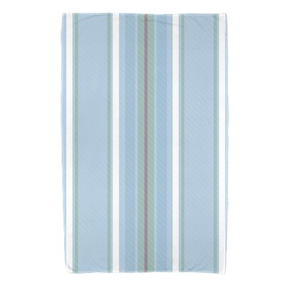 Petersfield Multi-Stripe Bath Towel Color: Light Blue