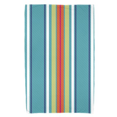 Petersfield Multi-Stripe Beach Towel Color: Turquoise
