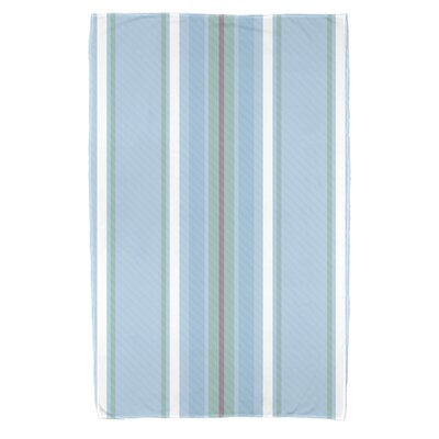 Petersfield Multi-Stripe Beach Towel Color: Light Blue