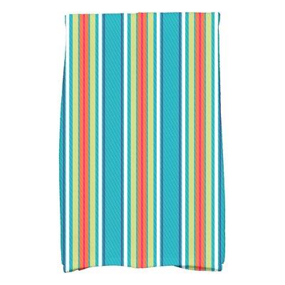 Petersfield Multi-Stripe Hand Towel Color: Turquoise