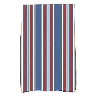 Petersfield Multi-Stripe Hand Towel Color: Blue