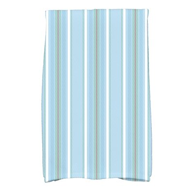 Petersfield Multi-Stripe Hand Towel Color: Light Blue