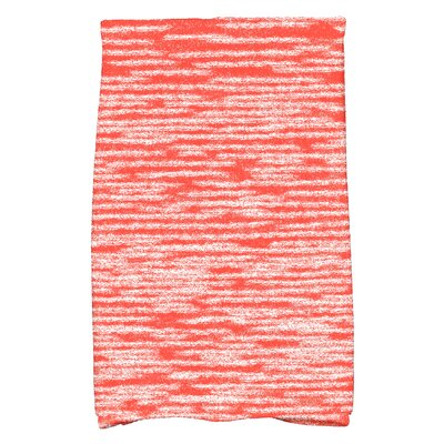 Hancock Blue Hand Towel Color: Orange