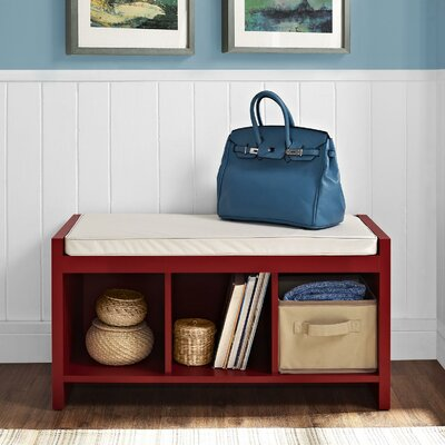 Breakwater Bay Waterford Storage Entryway Bench