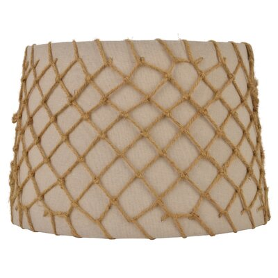 15 Beige Linen Drum Lamp Shade