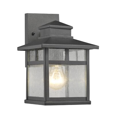 Westlock 1-Light Outdoor Wall Lantern Size: 10.35 H x 6.9 W x 7.6 D