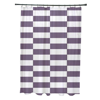 Merrill Shower Curtain Color: Purple