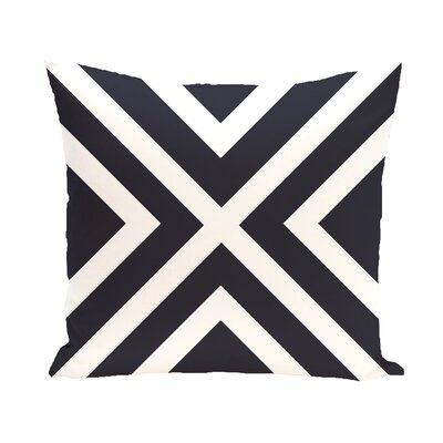 Layton Throw Pillow Color: Navy Blue, Size: 20 H x 20 W