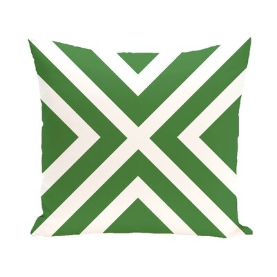 Layton Throw Pillow Size: 26 H x 26 D, Color: Green
