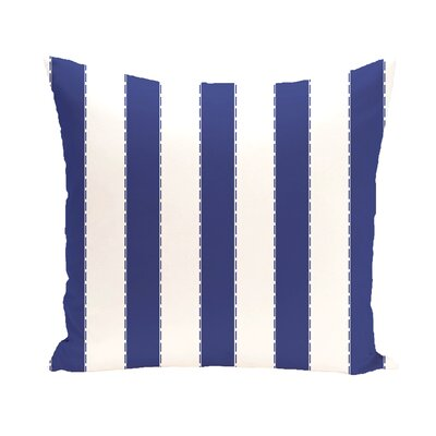 Merrill Throw Pillow Size: 18 H x 18 W, Color: Royal Blue