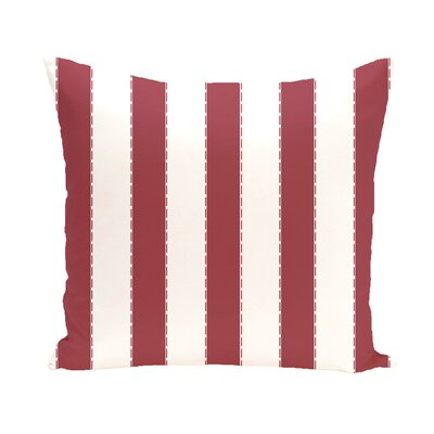 Merrill Throw Pillow Size: 16 H x 16 W, Color: Rust