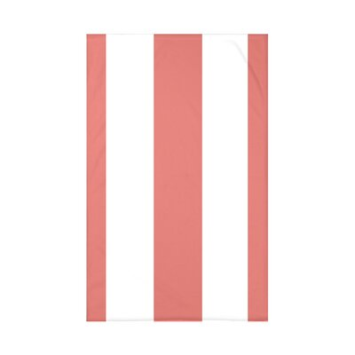 Caymen Stripe Print Polyester Fleece Throw Blanket Size: 60 L x 50 W x 0.5 D, Color: Seed