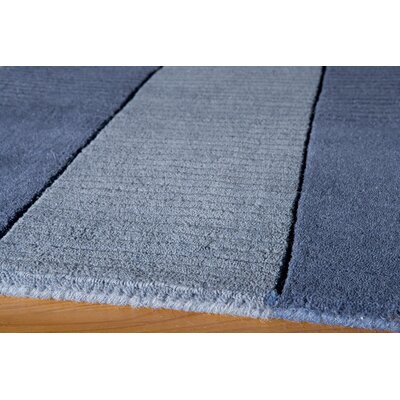 Matson Hand-Tufted Light Blue Area Rug Rug Size: Rectangle 33 x 53