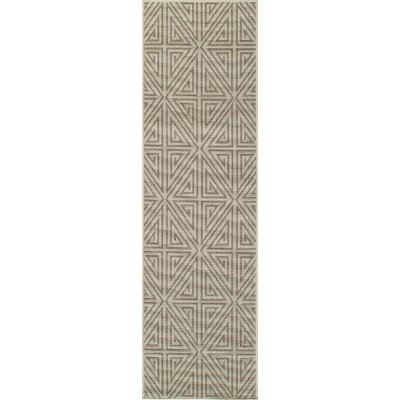 Norris Taupe Area Rug Rug Size: 7'10