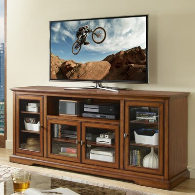 Faye 70 TV Stand Color: Rustic Brown