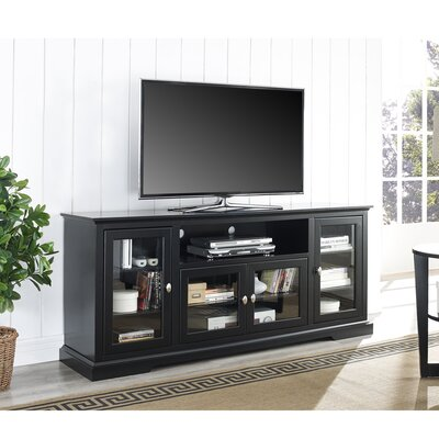 Faye 70 TV Stand Color: Black