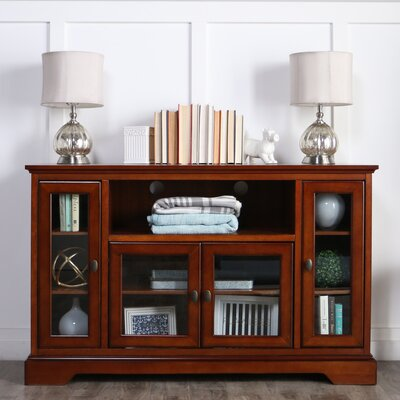 Josie 52 TV Stand Color: Brown