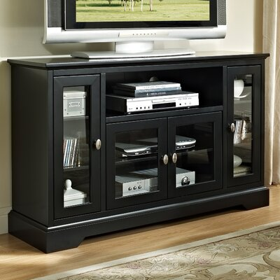 Josie 52 TV Stand Color: Black