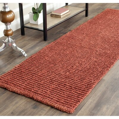 Glenhaven Rust Area Rug Rug Size: Square 8