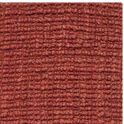 Glenhaven Rust Area Rug Rug Size: 3 x 5
