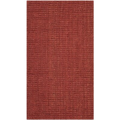 Cavanaugh Red Area Rug Rug Size: 2 x 3