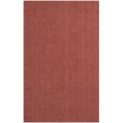 Cavanaugh Red Area Rug Rug Size: 5 x 8