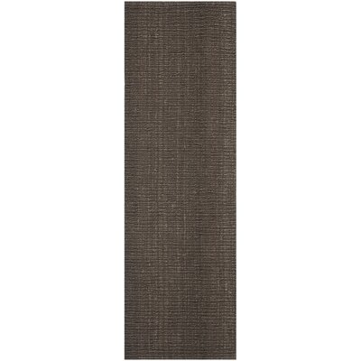 Glenhaven Brown Area Rug Rug Size: Runner 2'6