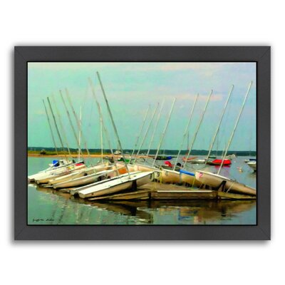 Daysailers Painted Framed Painting Print