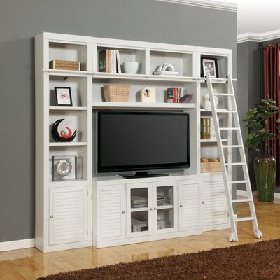 Bromley 4 Piece Entertainment Center with Ladder