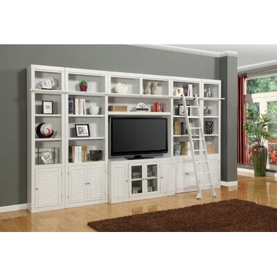 Bromley 7 Piece Entertainment Center with Ladder