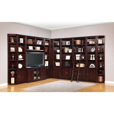 Bromley Corner Entertainment Center with Ladder