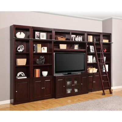Bromley 5 Piece Entertainment Center with Ladder