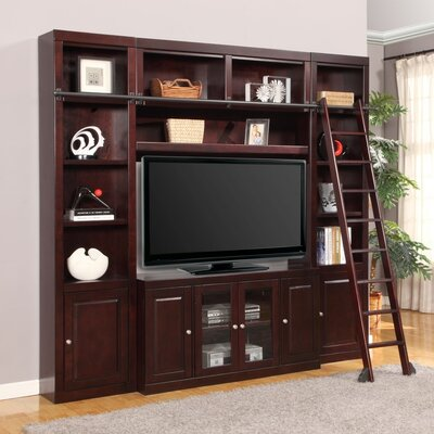 Bromley Entertainment Center with Ladder
