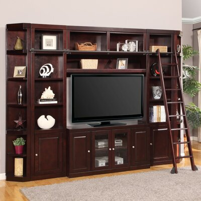 Bromley SpaceSaver Entertainment Center with Ladder