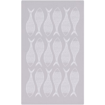Brigham Light Gray/Ivory Area Rug