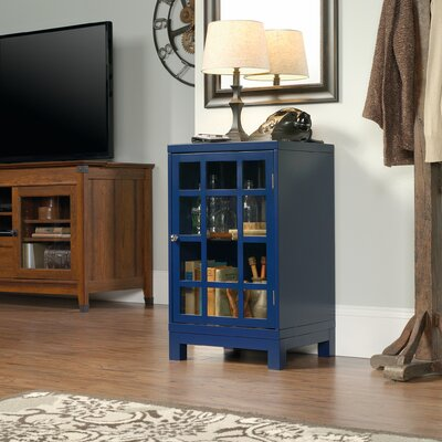 Woodcroft Display Cabinet Finish: Indigo