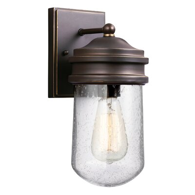 Irving 1-Light Outdoor Sconce